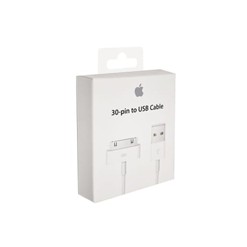 Apple Dockconnector 30-pin to USB cable MA591G/B Blister.