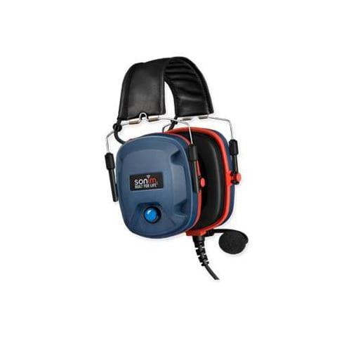 Intrinsically Safe PTT Earmuff Headset