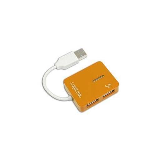 LogiLink USB 2.0 Hub 4Port orange