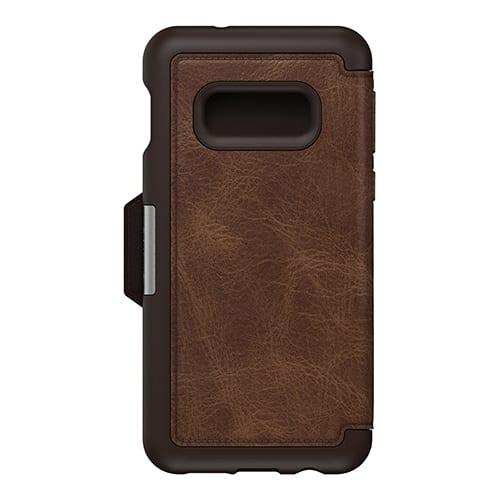 Otterbox Strada Series Folio for Galaxy S10 e Espresso Brown