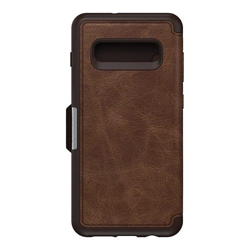 Otterbox Strada Series Folio for Galaxy S10 plus Espresso Brown
