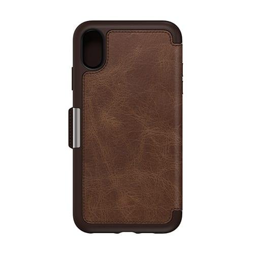 Otterbox Strada Series for iPhone XS Max Espresso Brown