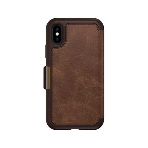 Otterbox Strada for iPhone X / XS Espresso Brown