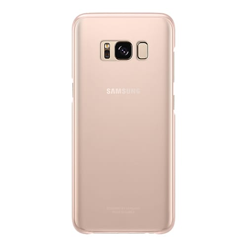 Samsung Clear Cover G950F Galaxy S8 pink