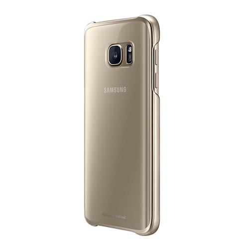 Samsung Clear Cover Galaxy S7 -  G930 gold