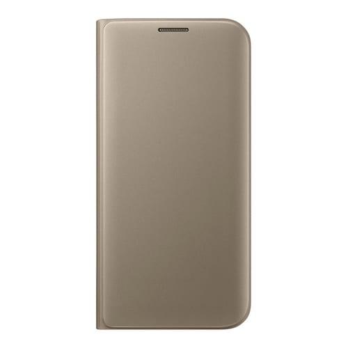 Samsung Flip Wallet Galaxy S7 Edge  -  G935F gold