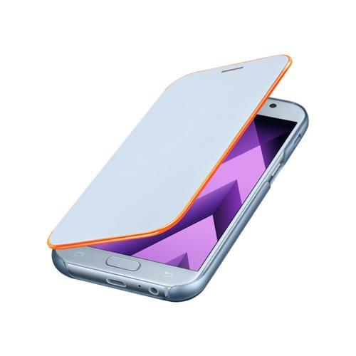 Samsung Neon Flip Cover A320F Galaxy A3 (2017) blue