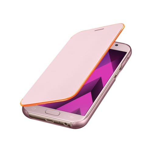 Samsung Neon Flip Cover A320F Galaxy A3 (2017) pink