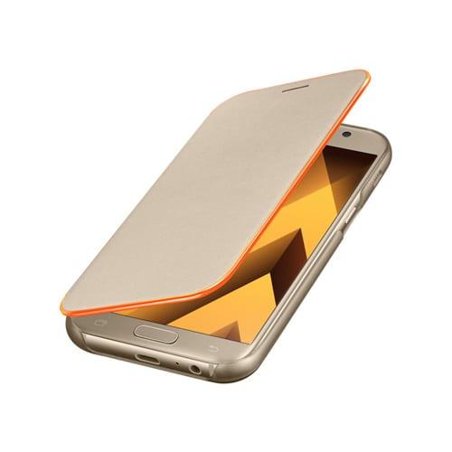 Samsung Neon Flip Cover A520F Galaxy A5 (2017) gold