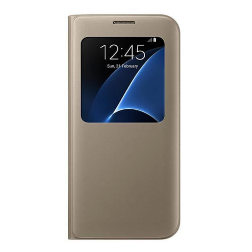Samsung S View Cover Galaxy S7 Edge  -  G935F gold