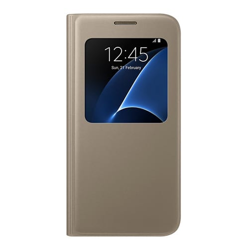 Samsung S View Cover Galaxy S7  -  G930F gold