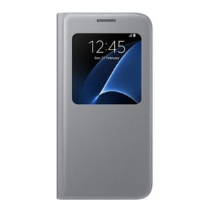 Samsung S View Cover Galaxy S7  -  G930F silver