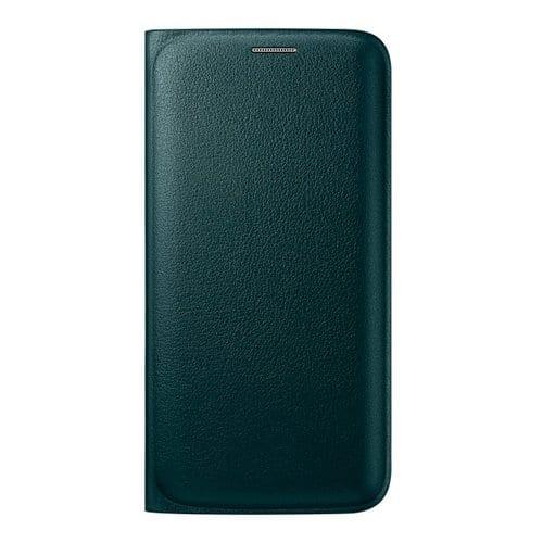 Samsung S6 Edge Flip Wallet Original Green