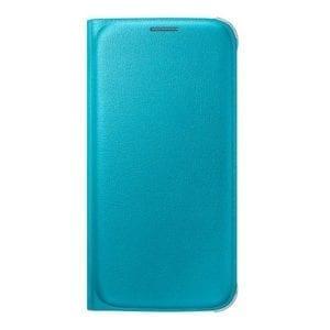 Samsung S6 Flip Wallet Original Blue