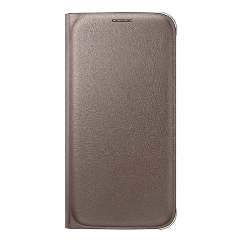 Samsung S6 Flip Wallet Original Gold