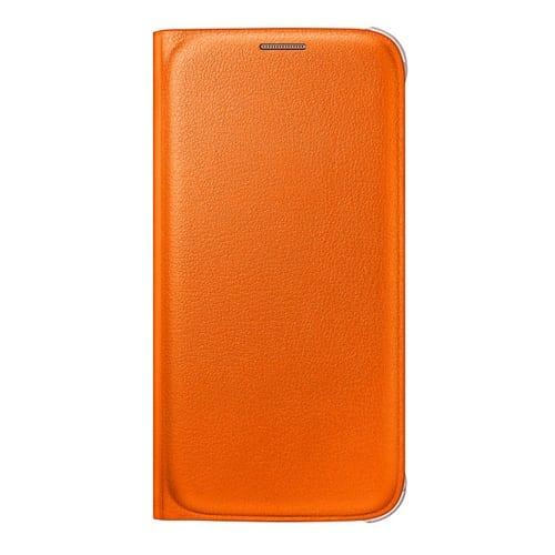 Samsung S6 Flip Wallet Original Orange