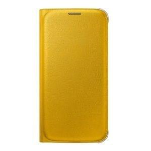 Samsung S6 Flip Wallet Original Yellow
