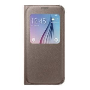 Samsung S6 S View Cover Original Gold