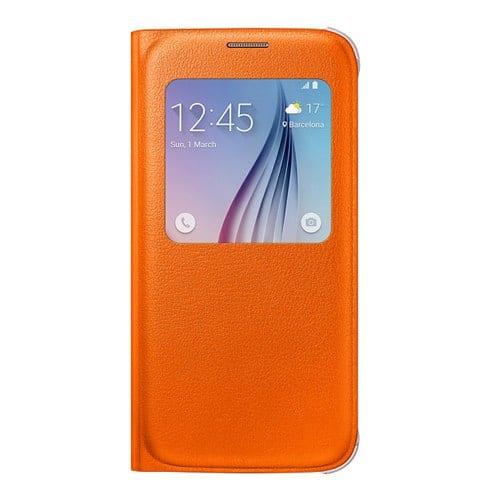 Samsung S6 S View Cover Original Orange