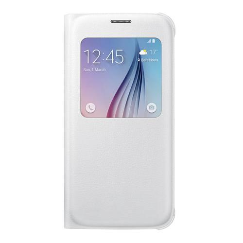 Samsung S6 S View Cover Original White