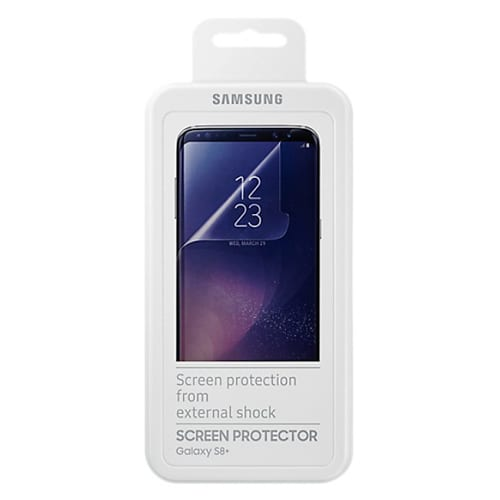 Samsung Screen Protector G955F Galaxy S8 plus transparant 2-packer