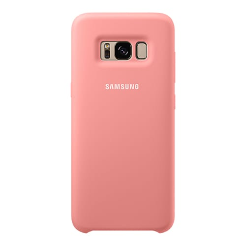Samsung Silicone Cover G955F Galaxy S8 plus pink