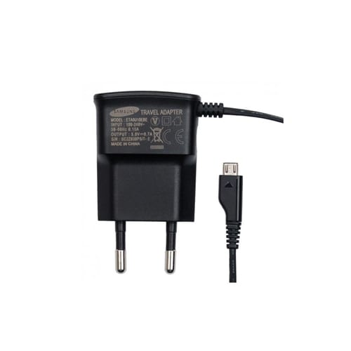 Samsung Travel Adapter Micro USB ETA0U10EBE blister