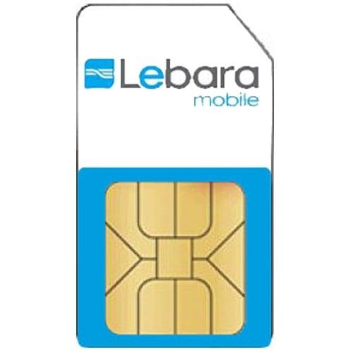 Simkaart Lebara Prepaid