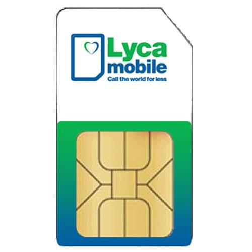 Simkaart Lyca Prepaid