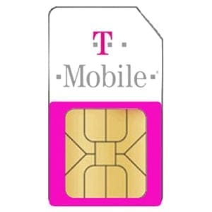 Simkaart T-mobile Prepaid