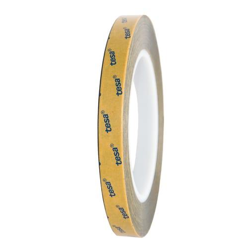 Tesa Dubbelzijdige Klevend Tape Zwart 6mm x 25meter