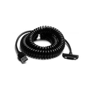 USB Coiled Data + Charge Cable (3.5m)