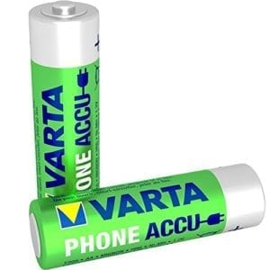 Varta AA 2100 mAh  rechargeable accu ready to use NiMH (2pack)