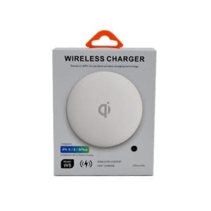 Wireless Charger Qi W6 ultra slim black