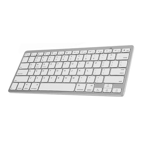 Wireless Keyboard Ultra thin BK3001 silver