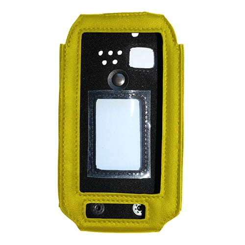 i.safe MOBILE IS520.1 leather case yellow
