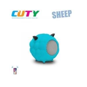 iDance Wireless Bluetooth Speaker Cuty Sheep Cyan / Blue