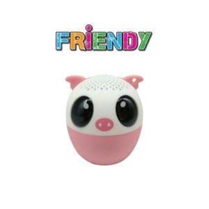 iDance Wireless Bluetooth Speaker Friendy Pig