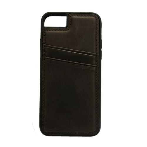 iNcentive Leather Card Slot Case Galaxy S9 plus dark brown