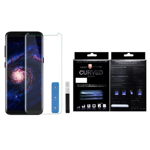 iNcentive Nano Tempered Glass Galaxy Note 9 UV light curved clear