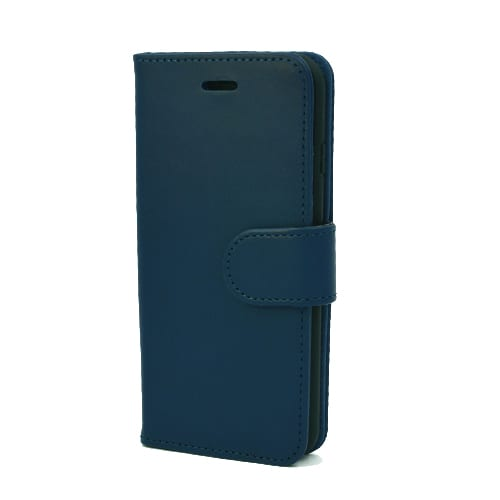 iNcentive PU Wallet Deluxe iPhone 5 - 5S - SE navy blue