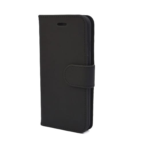iNcentive PU Wallet Deluxe iPhone 5 - 5S - SE pitch black