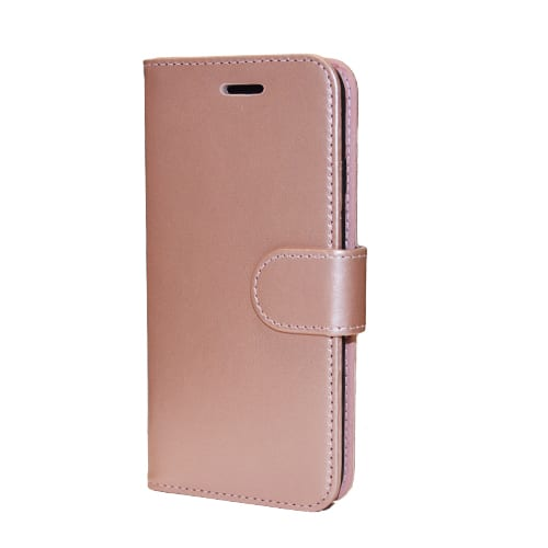 iNcentive PU Wallet Deluxe iPhone 5 - 5S - SE rose gold