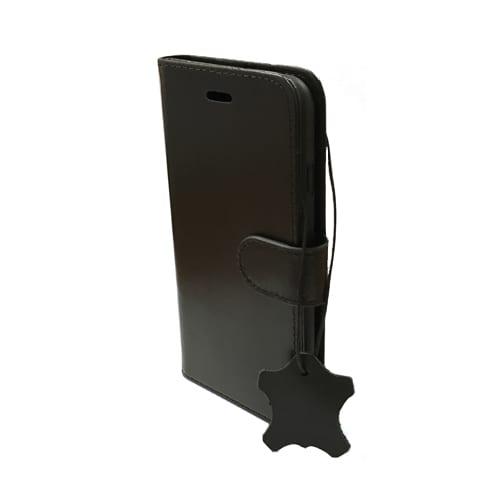 iNcentive Premium Leather Wallet Case iPhone 5 - 5S - SE black