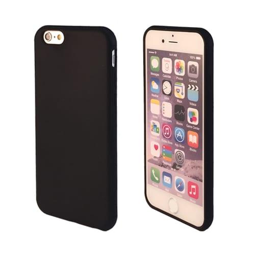 iNcentive Silicon case flat iPhone 5 - 5S - SE black