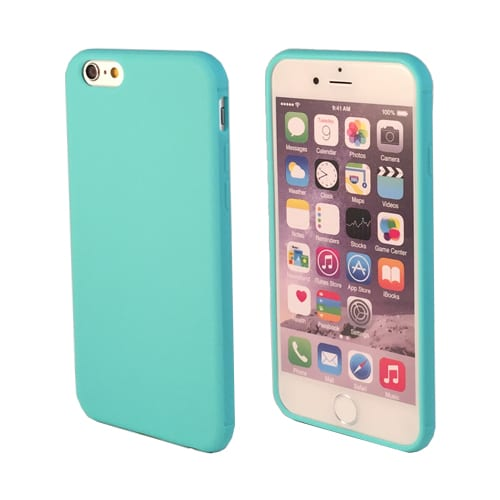 iNcentive Silicon case flat iPhone 6 - 6S plus green