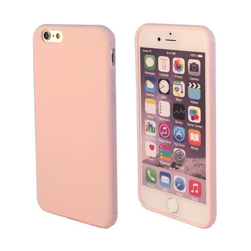 iNcentive Silicon case flat iPhone 6 - 6S plus pink