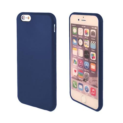 iNcentive iNcentive Silicon case flat  iPhone X / XS dark blue