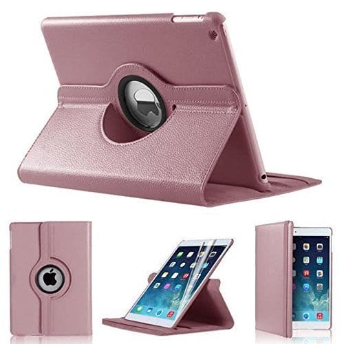 iPad 2017 / 2018 Cover Stand 360 rose gold