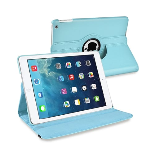 iPad Air 2 Cover Stand 360 blue